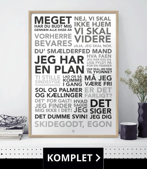 rammer med citater Gode citater   Plakater med tidens sjoveste danske citater! rammer med citater