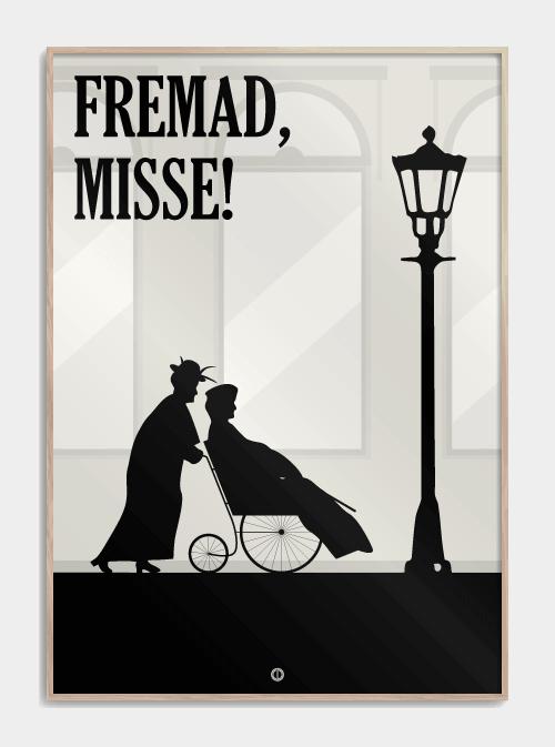 Matador citat plakat jeg går i seng