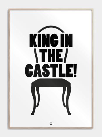 borat funny poster king in the castle