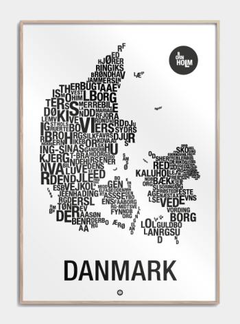 danmarks plakat typografisk