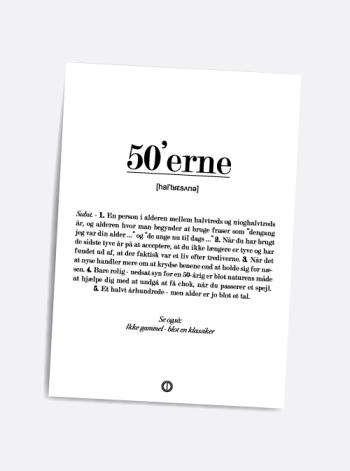50 år kort