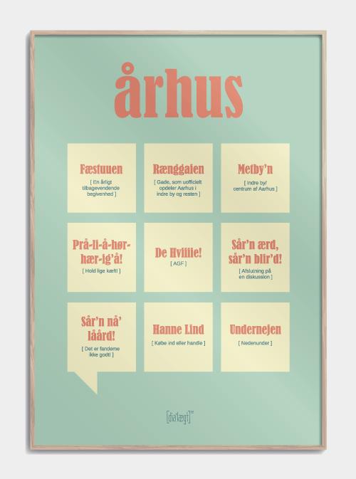 Sjov plakat om Århus
