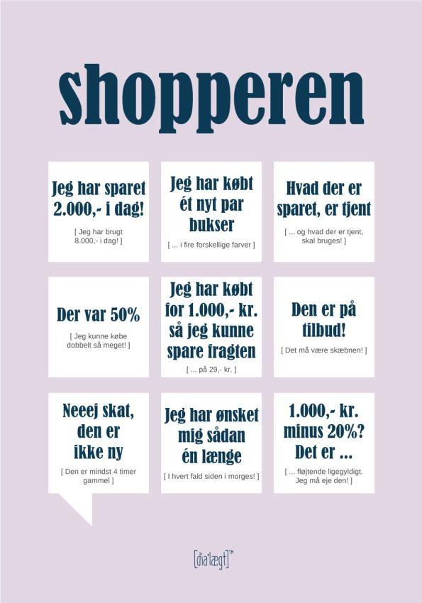 shopperen plakaten