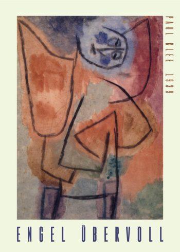 Engel übervoll Paul Klee