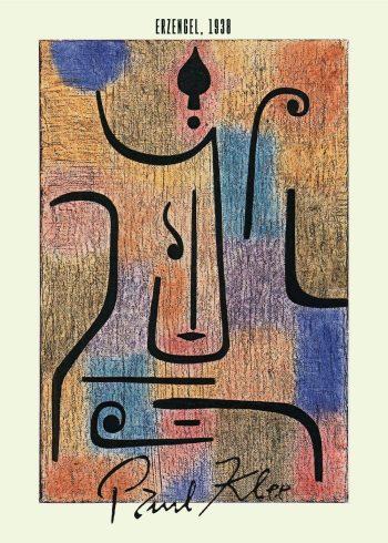 Erzengel Paul Klee maleri