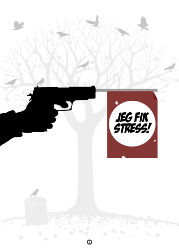 'Adams Æbler' citat plakat: Jeg fik stress!