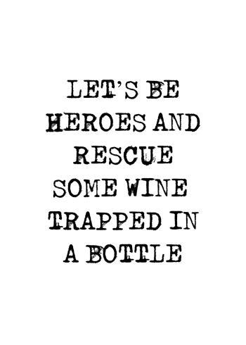 sjove plakater med vin