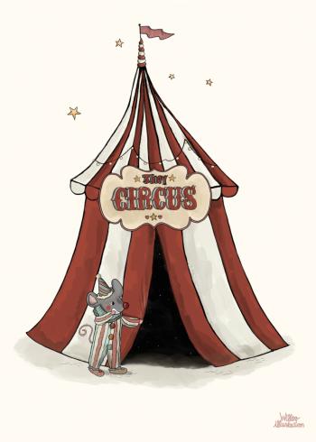 cirkus plakat