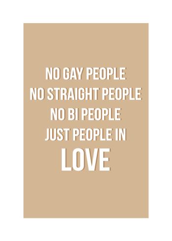gay love plakat
