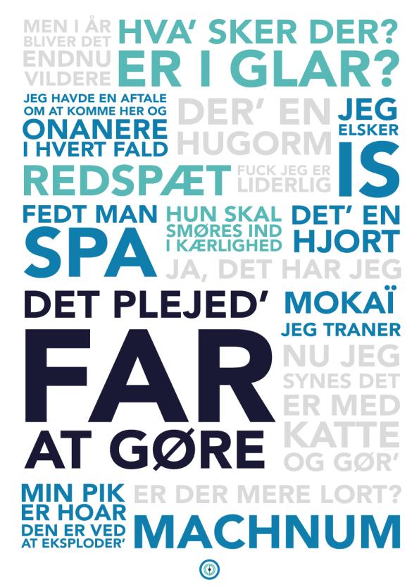 Dybvad citater på plakater