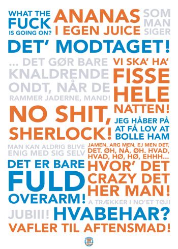 plakater med citater fra Natholdet med anders breinholt