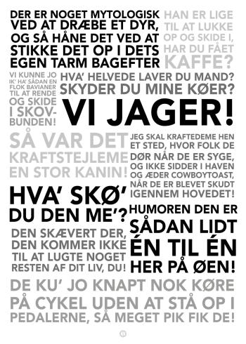 ole thestrup plakat med hans bedste citater sort hvid