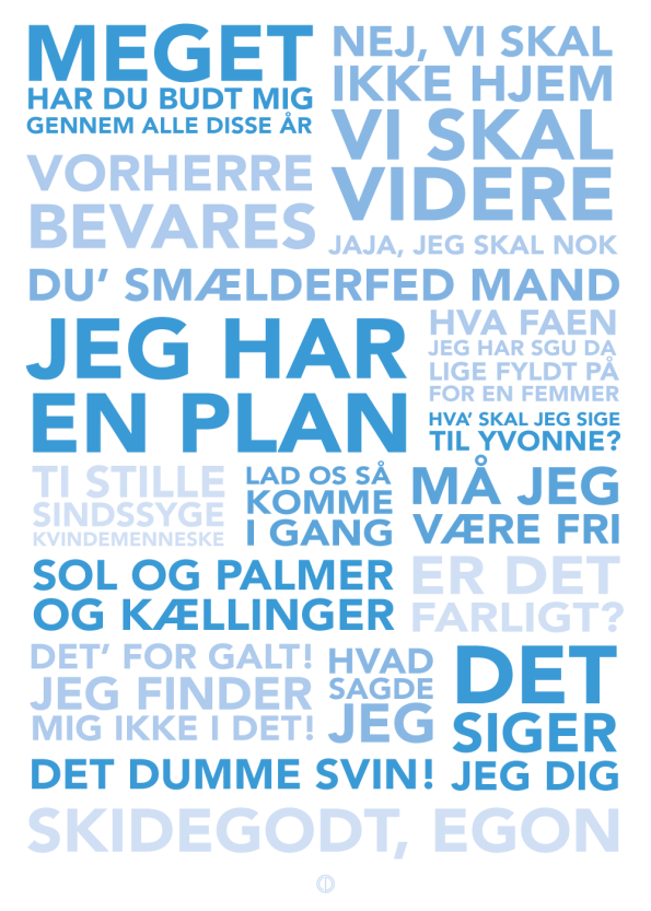 'Olsen Banden' komplet plakat
