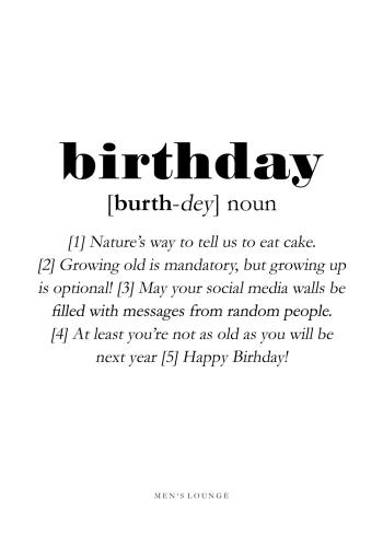 birthday definition på engelsk