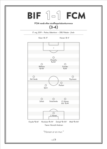 FCM fanplakat pokalfinale 2019
