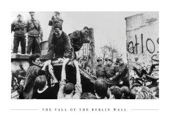 billeder fra berlin murens fald