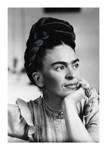 fotokunst af frida kahlo