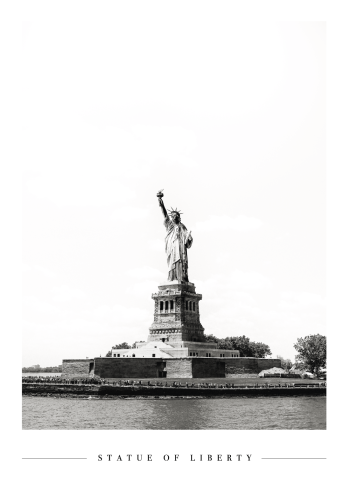 the statue of liberty plakat