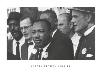 martin luther king jr plakat