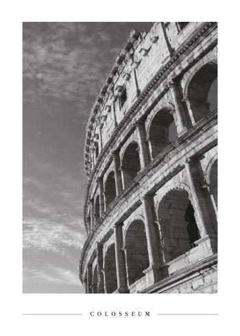 historiske billeder med colosseum