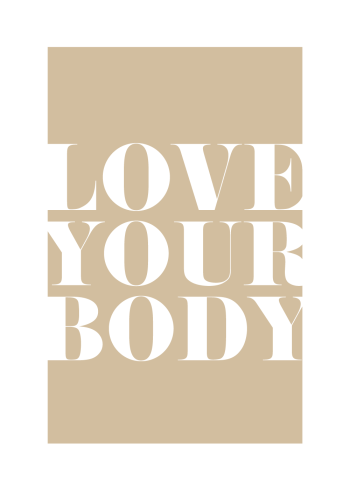 love your body plakat