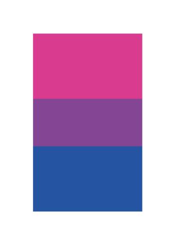 Biseksuelt flag