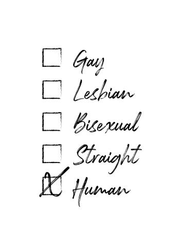 LGBT gay leasbian bisexual straight human