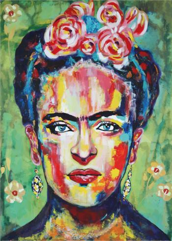 maleri af frida kahlo