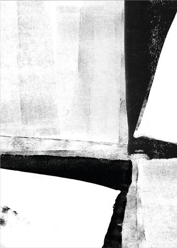 kunstplakater i sort og hvide farver