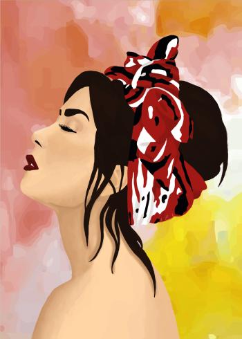 kunstplakater med demi lovato i vektor og flotte farver