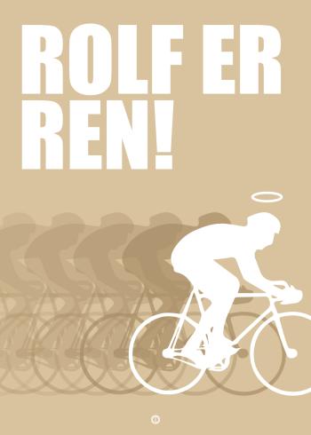 espen og peter Monte Carlo citat plakat: Rolf er ren (sand)