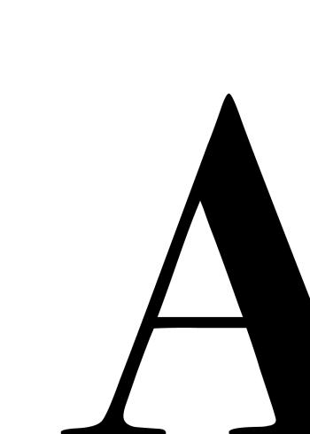 bogstav plakater med bogstavet a