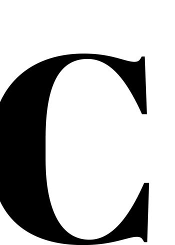 abc plakater med bogstavet c