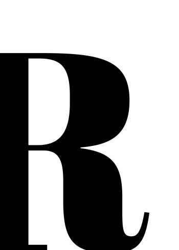 bogstav plakater med bogstavet r
