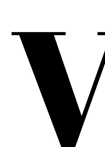 abc plakat med bogstavet v