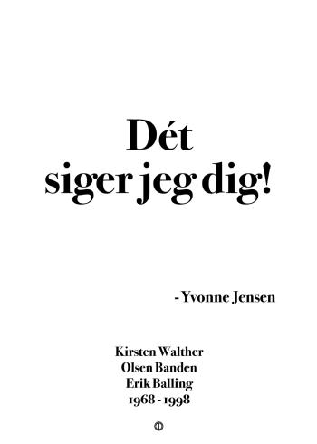 'Olsen-banden' plakat: Dét siger jeg dig!