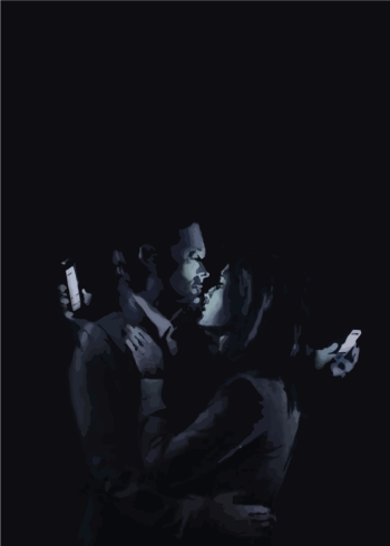 banksy plakat relationship with phones