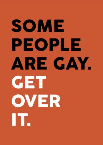 gay people plakat