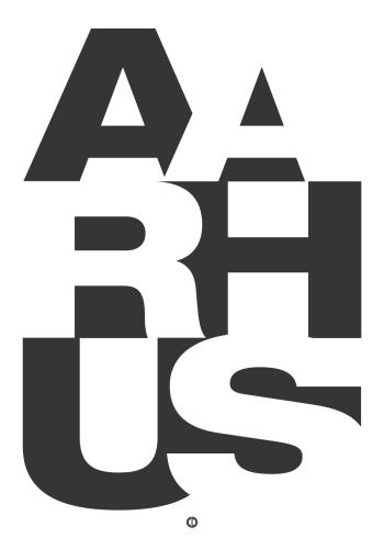 aarhus plakat typografisk