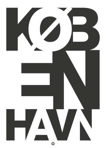københavn plakat typografisk