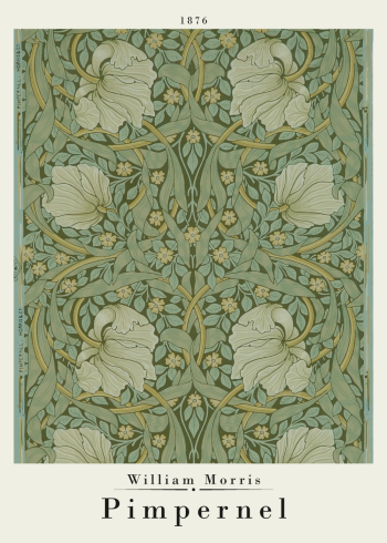william morris plakat