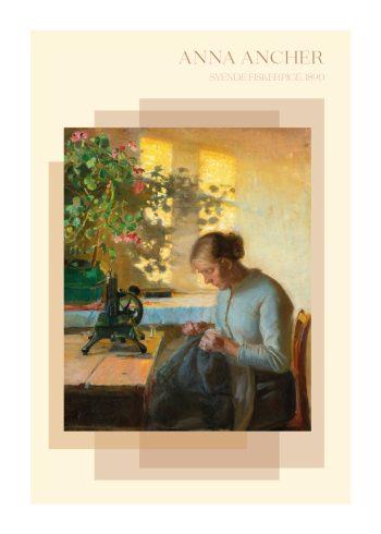 Anne Ancher, af den syene pige, i de fineste farver fra 1890
