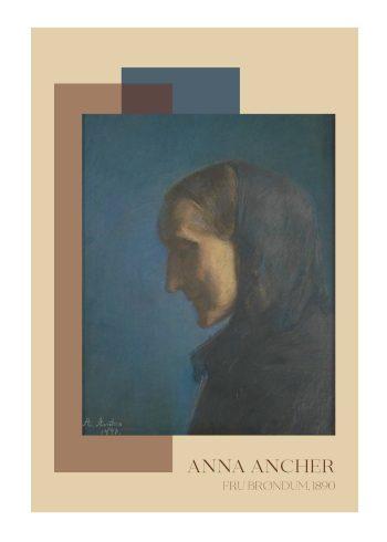 Fru Brøndum - Anna Ancher