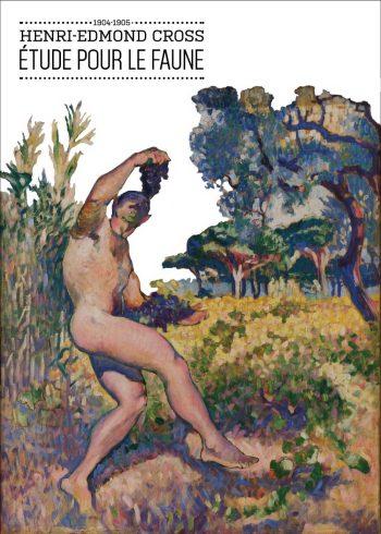 Maleriet forestiller afklædt man som spiller vindruer i det fri mellem træer og buske