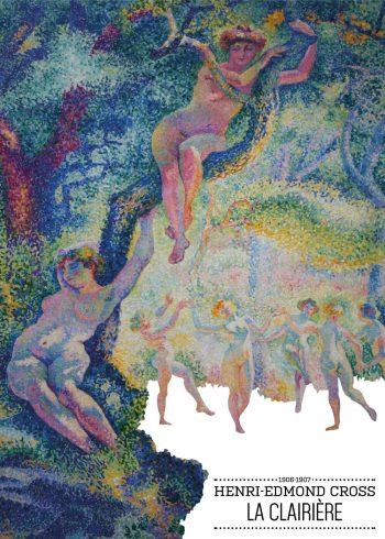 Maleriet er et farverigt landskabsmaleri, hvor man ser en flok kvinder danse i naturen.
