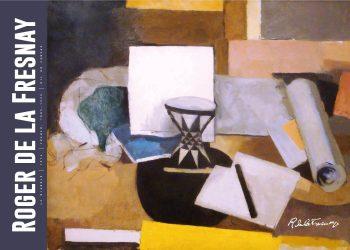 Museumsplakat med maleriet Le diabolo af roger de la fresnaye