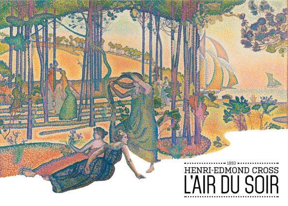 Maleriet er et farverigt maleri, hvor man ser en række kvinder i naturen