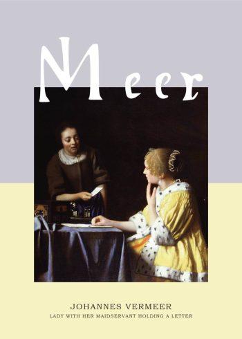 """Museumsplakat med maleriet """"Mistress and maid"""" af Johannes Vermeer"""
