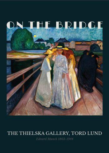 "Museumsplakat med Edvard Munchs maleri ""Kvinder på broen"""