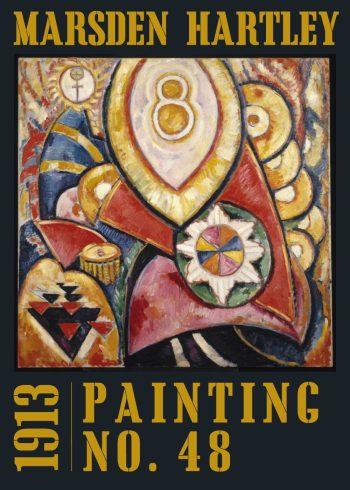 painting no. 48 af marsden hartley